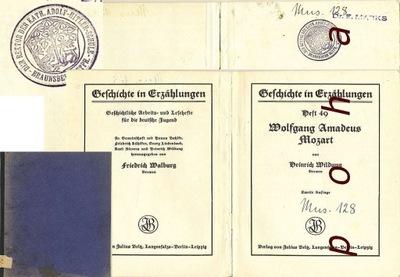 Wolfgang Amadeus Mozart 1938 Heinrich Wildung