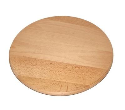 Doska na rezanie - Deska do sera przekąsek obrotowa 40 cm + łopatka