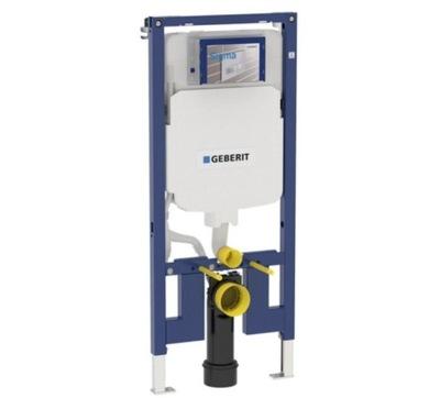 Montážny rám pre závesné WC - Geberit Duofix montážny prvok pre WC, Sigma 8cm