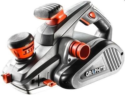 РУБАНОК электрический Graphite 59G680 1300 ВТ + ножи