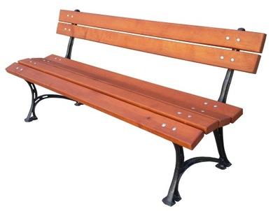 Lavička do záhrady Záhradná lavička ROYAL ALUMINIUM LEGS !!!