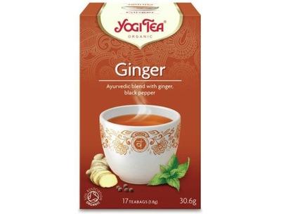чай С КОГТЯМИ - имбирная био 17x1,8g YOGI TEA