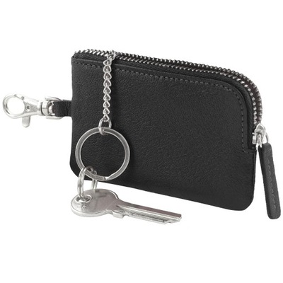 Etui na klucze, kluczówka GALO 967 czarny skóra