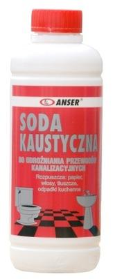 Udrażniacz rur soda kaustyczna 250g kret