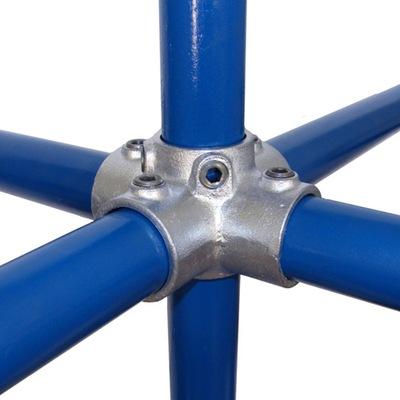 Złączka do rur Krzyżak do rur 33,7 mm (1