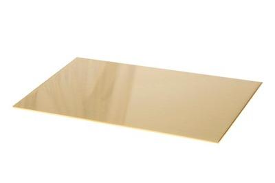 Tin mosadz mosadz forme 200x100x0,6 mm