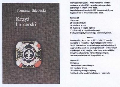 """Książka """"KRZYŻ HARCERSKI 1913 - 2013"""""""