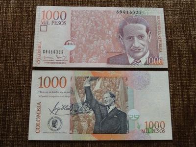 181.KOLUMBIA 1000 PESOS UNC