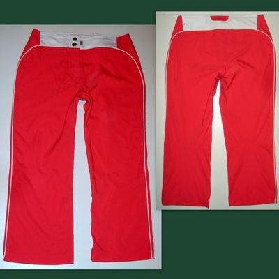 ELEGANCKIE Spodnie DRESOWE cienkie CHIEMSEE r. 38