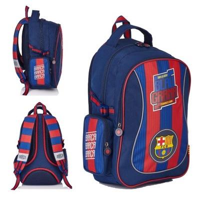 Školká taška, batoh, ruksak - Školský batoh FC BARCELONA FC-132 - pevný!
