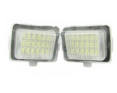 Lampki rejestracji Mercedes w204 216 207 w212 w221