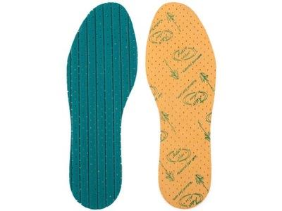 Wkładki do butów ALOE VERA z wyciągiem z aloesu 28