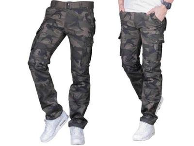 Spodnie męskie bojówki 2096 fashionmen2 rozm. 31