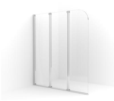 Sprchové dvere - Kúpacia obrazovka Besco 3-skrz 123x139cm AMBITION