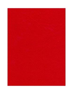 войлок Декоративный 2мм лист 30x40 см красный (44 )