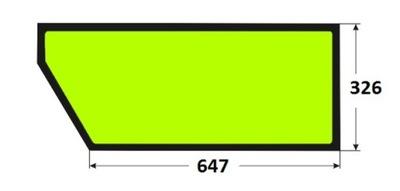 стекло двери зарядное устройство JCB 520-55 526-55 528-70 ...