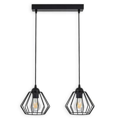 LAMPY PRÍVESOK lampa STROPNÝ LUSTER DIAMOND LED 724-B2