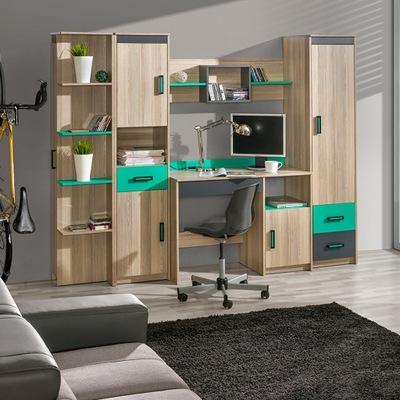 B2 мебель ULTIMO стенка 2 акция - gerlico доставка из Польши Allegro на русском