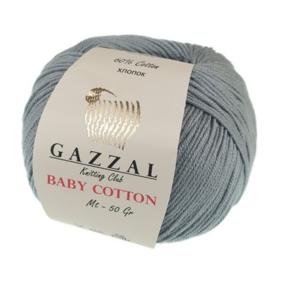 пряжа Gazzal Baby Cotton 3430