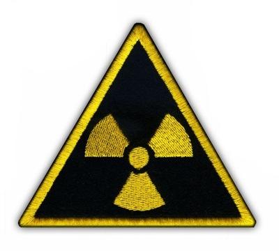 Naszywka radioaktywna - radioaktywność HAFT