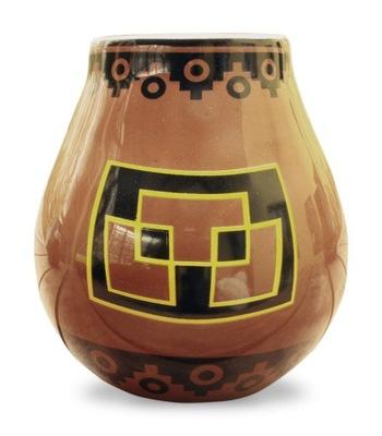 керамические Calabaza ПЕРУ - для Yerba Mate