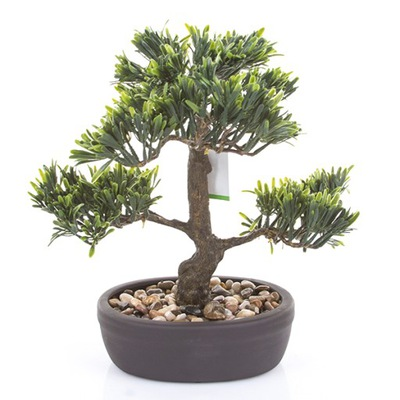 umelé BONSAI strom Podocarpus 32 cm strom