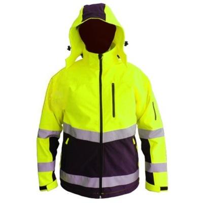 куртка рабочая предупреждения SOFT-SHELL ФЛИС S -3XL
