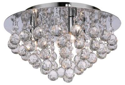 SVIETIDLO CRYSTAL stropné svietidlo STROPNÉ svietidlo CHRÓM GLAMOUR