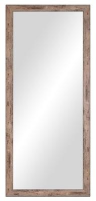 зеркало в стиле потертый 127x67 см белое , Серые , бронза
