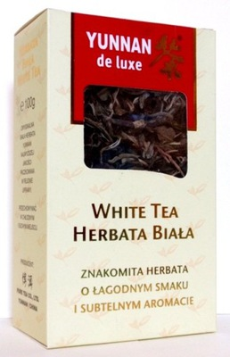 ЮНЬНАНЬ DE LUXE WHITE TEA 100Г