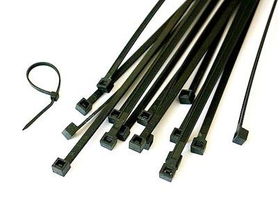 SVORKY pre káble 250 mm x4. 8 mm pkg.100ks