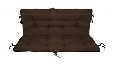 подушка на скамейку садовую качели 100x60x50 бронза