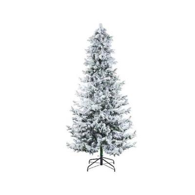 Vianočné stromčeky - UMELÝ STROM OŚNIEŻONA JEDĽA 210 CM, AKO OBÝVACIA
