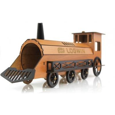 pociąg lokomotywa prezent 20 30 40 50 60 urodziny