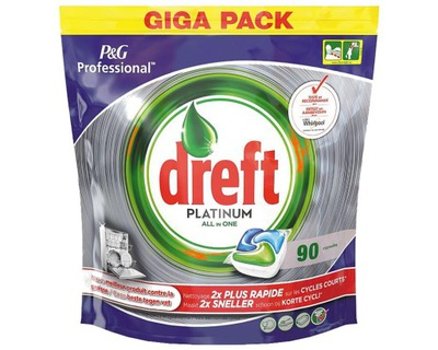 Dreft Fairy Platinum Original таблетки 90 шт BE