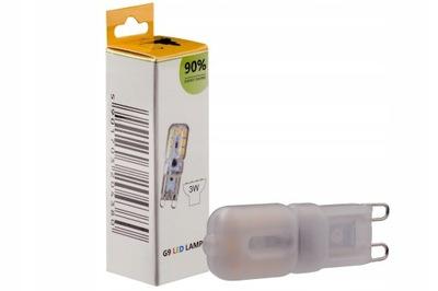 Лампа LED G9 SMD 3W 300LM мини тепла Диммер
