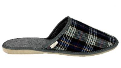 0995efb2 Pantofle kapcie męskie BOSO 11371 klapki brąz 41 6875655644 - Allegro.pl