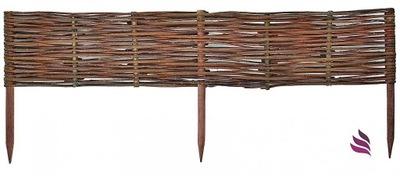 Plôtik, palisáda, obrubník - Drevený plot pergola prútený výrobca 100x40