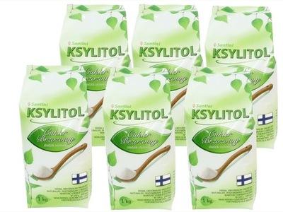 КСИЛИТ 6кг финский 100 % сахар березовый эконом