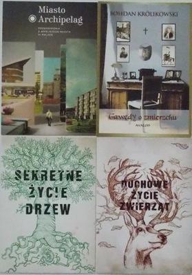 4 открытки, объявления, книги