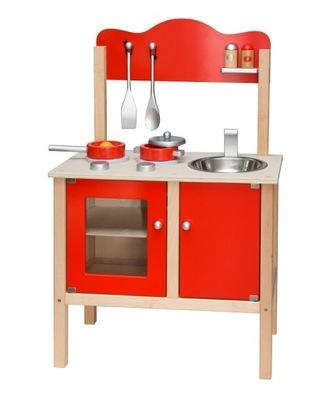 Detská kuchynka - Viga Drevená Kuchyňa s príslušenstvom, hračky