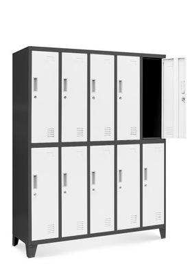 шкаф BHP социальная металлический для одежды  НОВАК