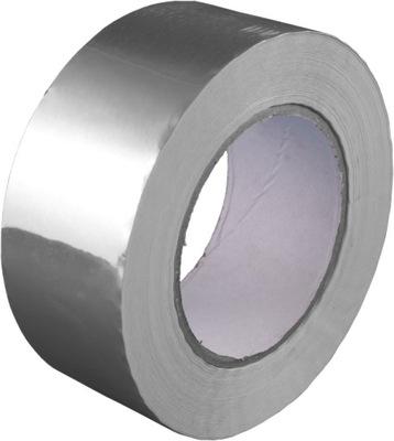 лента алюминиевая самоклеющаяся MAX 110°C 50 мм /50м