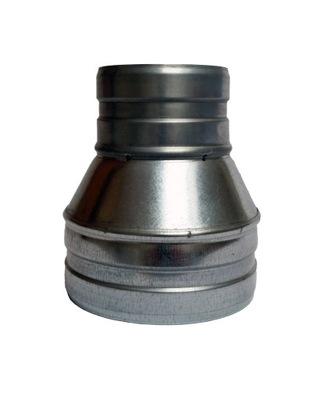 Zníženie 115/100 hadice potrubia spiro ventilátor kapota