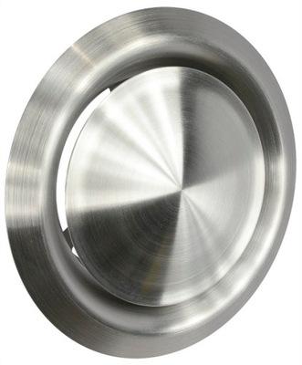 Anemostat ventil vetranie 200 mm CHRÓM