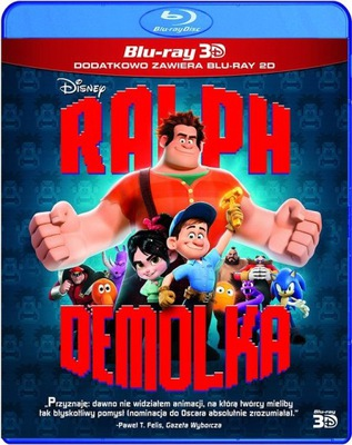 RALPH DEMOLKA 3D BLU-RAY + BLU-RAY [DUBBING]
