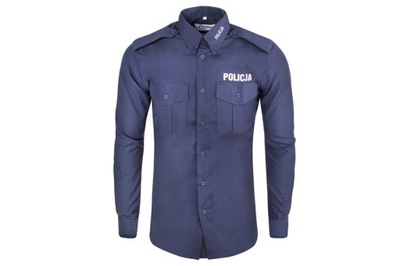 Koszula policyjna długi rękaw XL męska