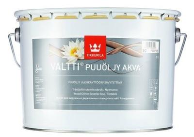 Tikkurila VALTTI WOOD OIL AKVA- масло для древесины, 9л