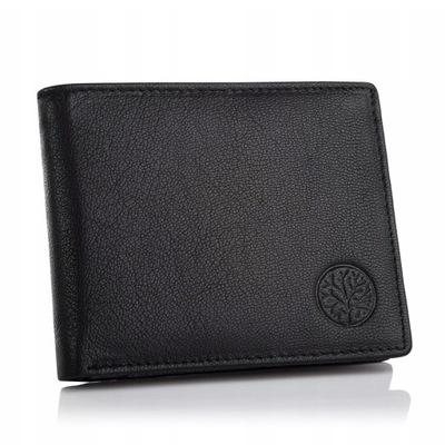 9d751ec524d13 Cienki portfel męski skórzany BETLEWSKI slim RFID 7782817613 ...