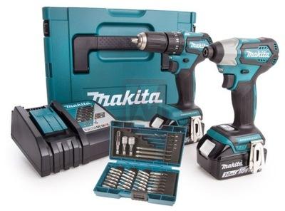 Elektrický skrutkovač - Dátový set MAKITA COMBO DLX2220JX2 DDF483 DTD155 PROMO